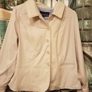 Lane Bryant beige jacket